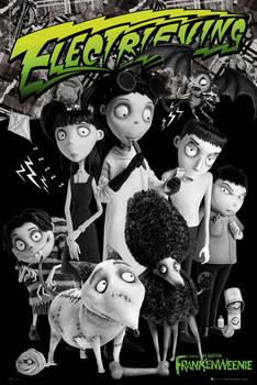 Poster FRANKENWEENIE - cast