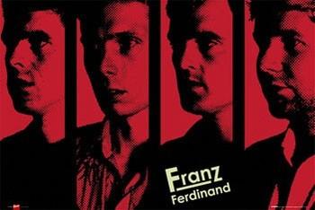 Póster Franz Ferdinand - band