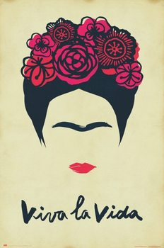 Póster Frida Kahlo - Viva La Vida