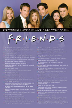 Póster  Friends - Everything I Know