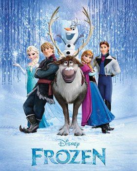 Frozen - Cast Poster / Kunst Poster