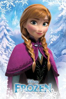 Póster Frozen: El Reine del hielo - Anna