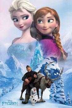 Póster  Frozen, el reino del hielo - Collage