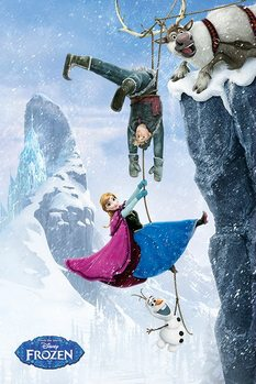Póster Frozen, el reino del hielo - Hanging