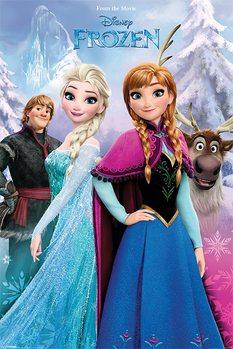 Póster Frozen, el reino del hielo - Snow Forest