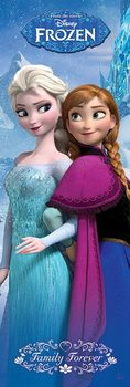 Poster Frozen: Il regno di ghiaccio - Family Forever