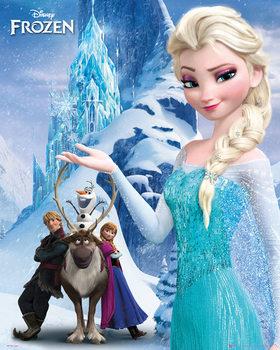 Frozen - Mountain Poster / Kunst Poster