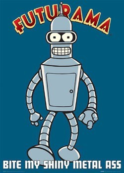 Póster FUTURAMA - bite my
