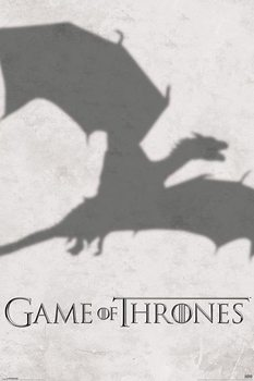 GAME OF THRONES 3 - shadow Poster / Kunst Poster