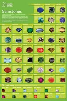 Poster Gamestones - natural history museum