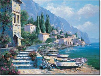 Gianola - Paesaggio IX Kunstdruk