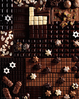 Poster Gourmet chocolate