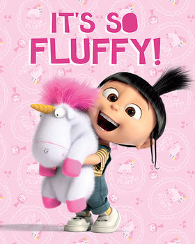 Póster Gru : Mi villano favorito 3 - It's So Fluffy
