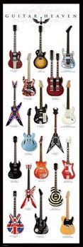 Póster  Guitar heaven