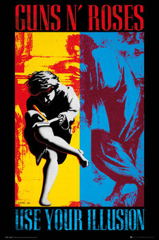 Guns'N'Roses - Illusion Poster
