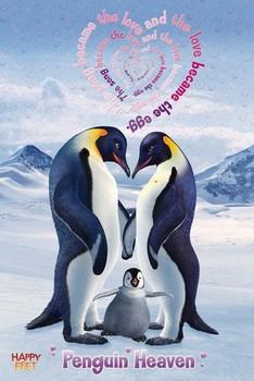 Poster Happy feet - penguin heaven