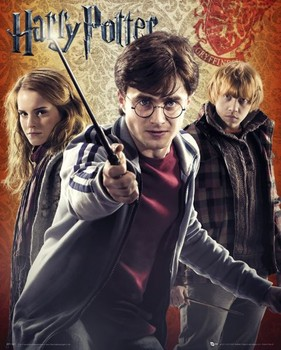 Póster HARRY POTTER 7 - trio
