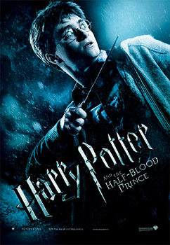 Poster Harry Potter e il principe mezzosangue - Harry with Magic Wand
