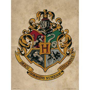 Harry Potter - Hogwarts Crest Kunstdruk