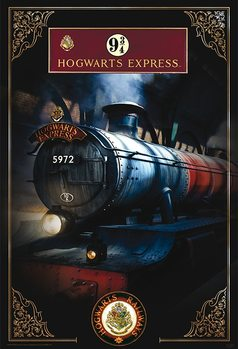 Póster  Harry Potter - Hogwarts Express