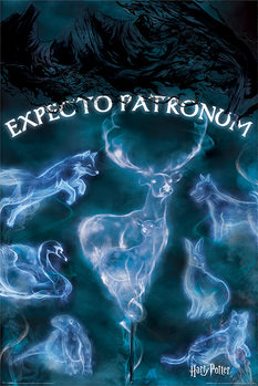 Póster  Harry Potter - Patronus