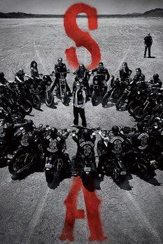 Póster Hijos de la anarquía - Circle