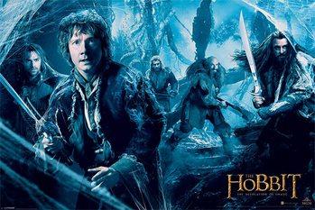 Poster HOBBIT DOS - mirkwood