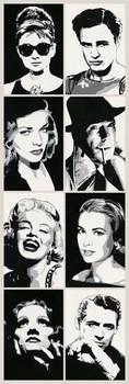 Póster Hollywood legends