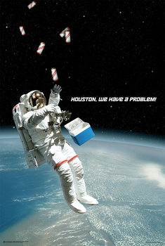Póster Houston, We Have A Problem!