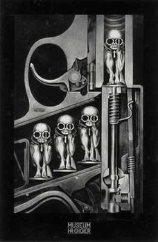 Hr Giger- birthmachine Poster