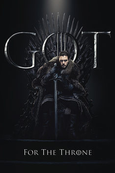 Gerahmte Poster  Hra o Trůny (Game of Thrones) - Jon For The Throne