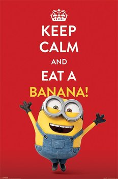 Poster I Minion (Cattivissimo me) - Keep Calm
