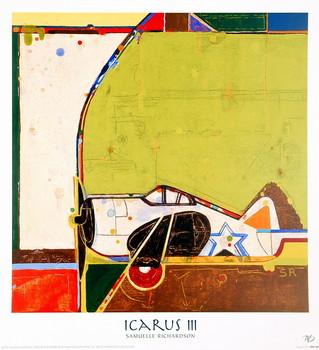 Icarus III Kunstdruk