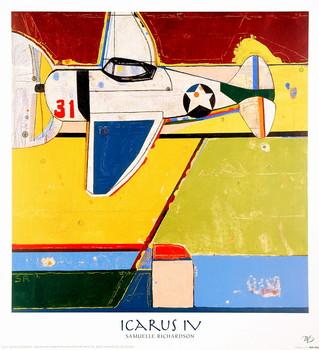 Icarus IV Kunstdruk