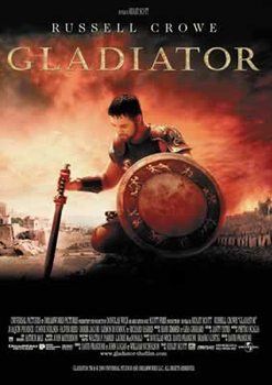 Poster IL GLADIATORE - russell crowe