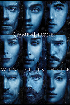 Poster  Il Trono di Spade - Winter is Here