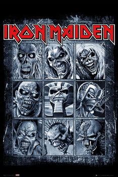 Póster  Iron Maiden - Eddies