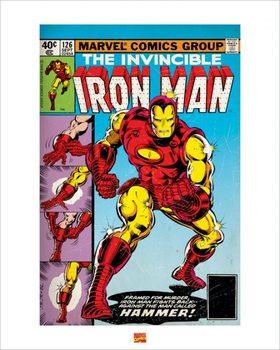 Iron Man Poster / Kunst Poster