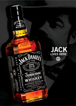 Póster 3D JACK DANIEL'S - bottle