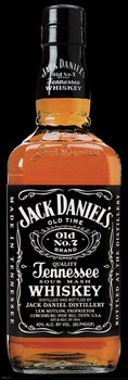 Póster Jack Daniel's - full size bottle
