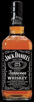 Poster Jack Daniel's - full size bottle