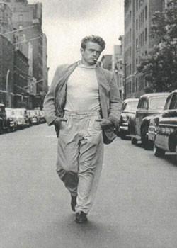 Póster James Dean - Walking