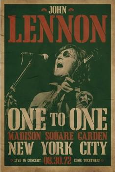 John Lennon - concert Poster / Kunst Poster