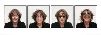 John Lennon – quartet Poster / Kunst Poster