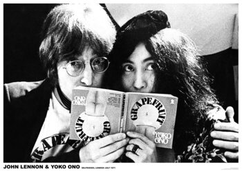 Poster John Lennon & Yoko Ono - Grapefruit Book
