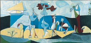 Joy of Life, 1946 Kunstdruk