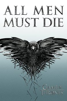 Póster  Juego de Tronos - Game of Thrones - All Men Must Die