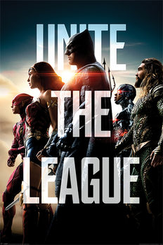 Póster  Justice League - Unite The League