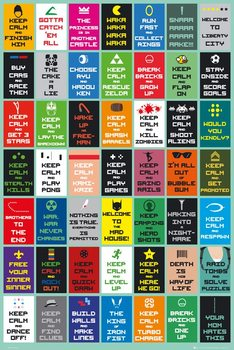 Poster Keep Calm - Gaming New