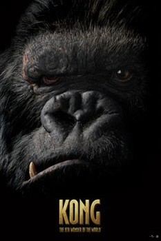 Póster KING KONG - face
